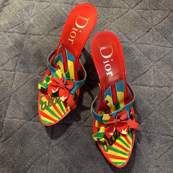 Limited Edition Dior 'Rasta Mania' Heels